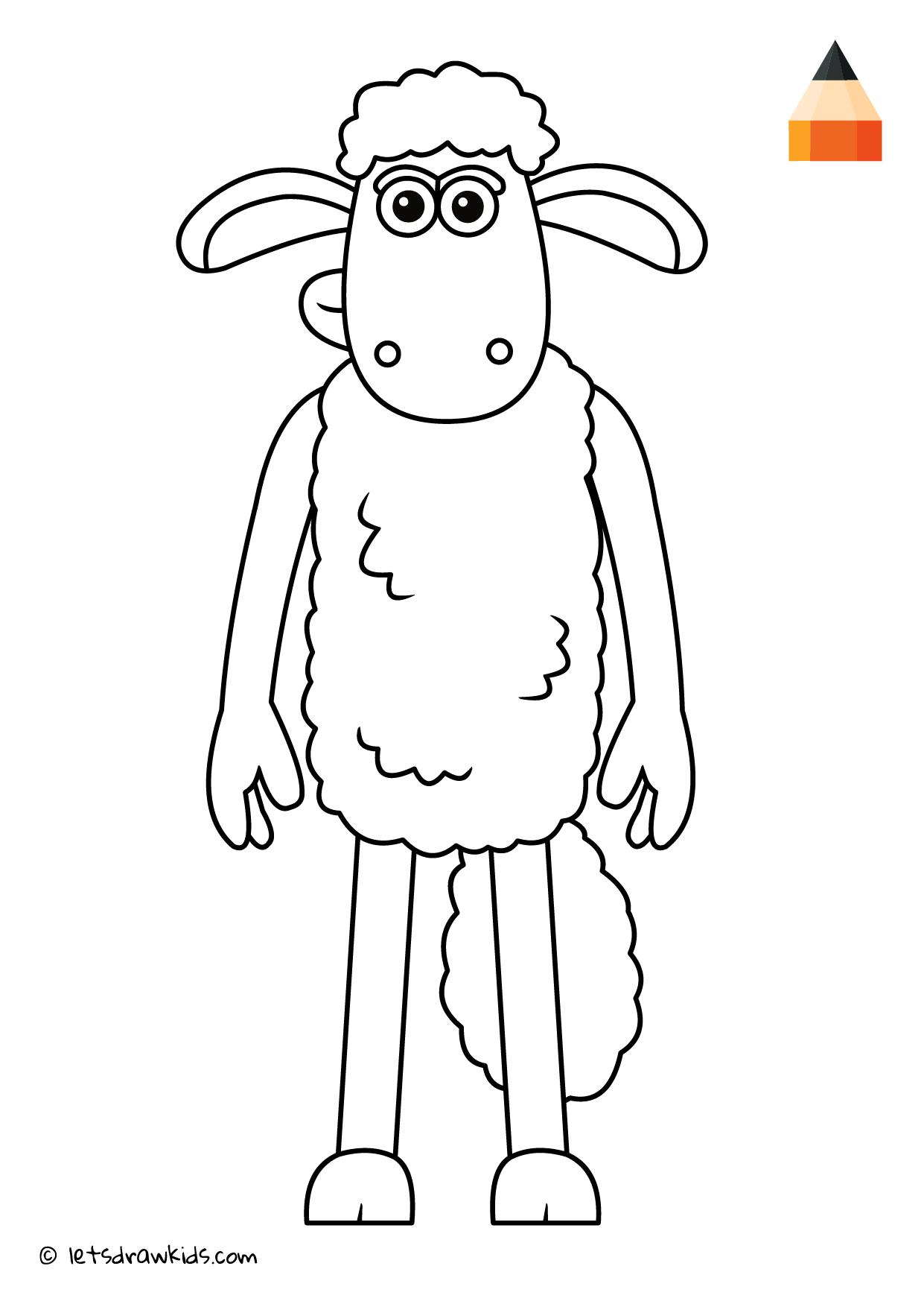 Coloring Page Shaun The Sheep Sheep Face Shaun The Sheep Unicorn Coloring Pages