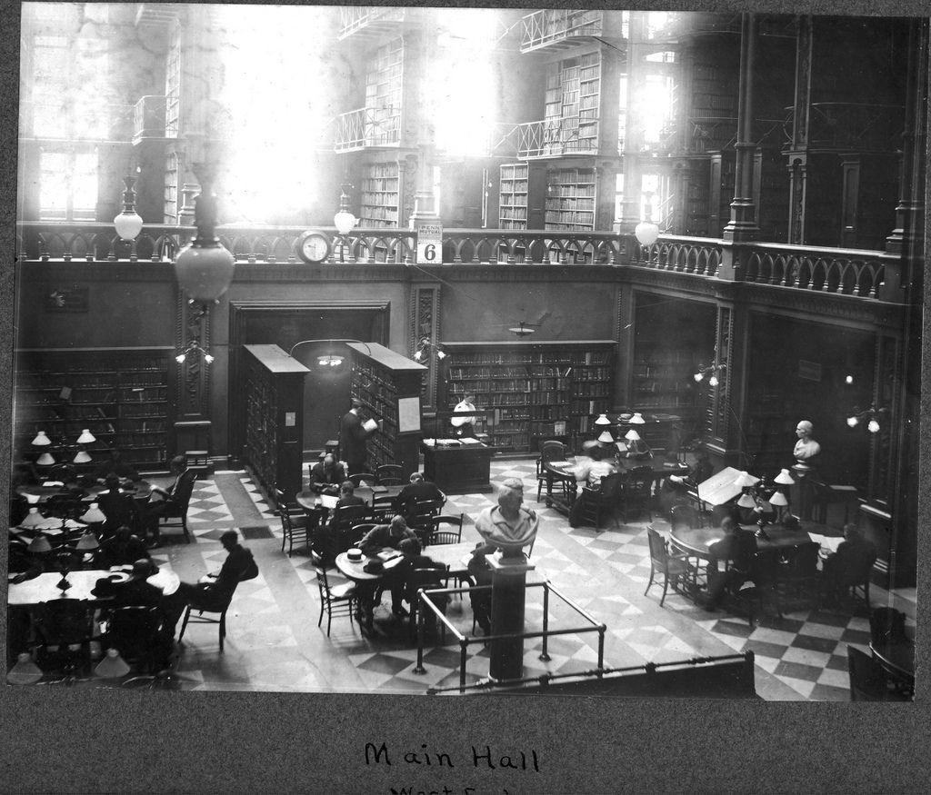 Main Hall Beautiful Library Cincinnati Library Main Library