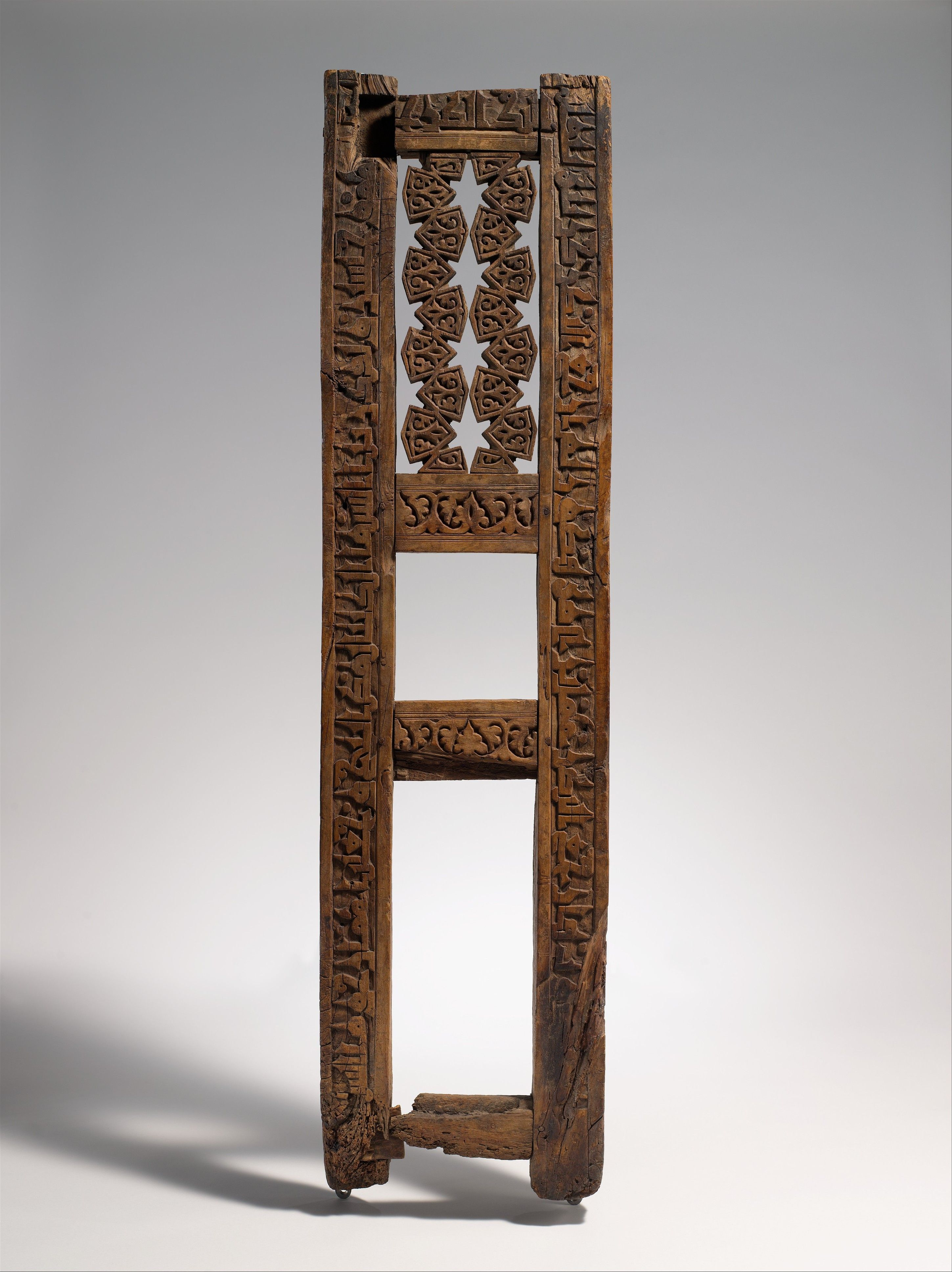 Fragment of a Pulpit | Islamic | The Metropolitan Museum of Art