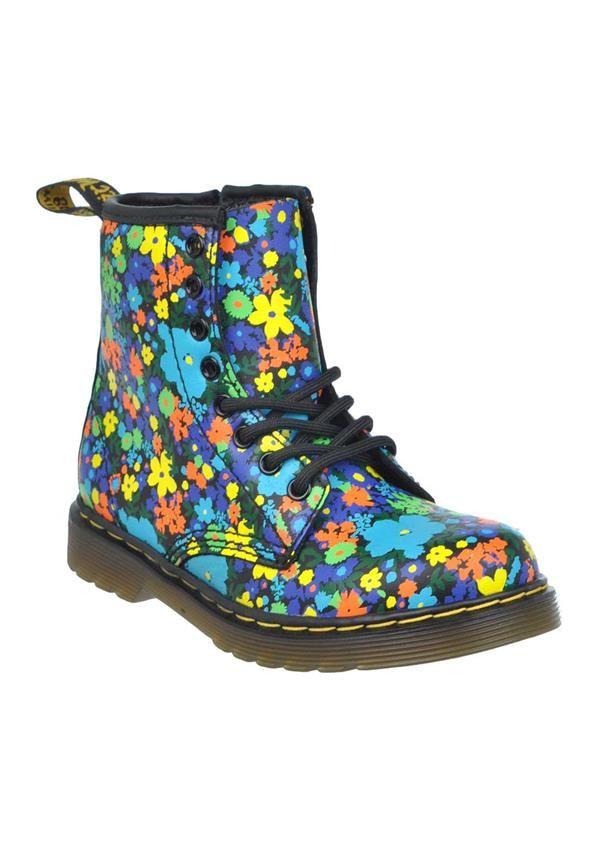 d9c115af2d75 Dr. Martens AirWair Kids Floral Print Boots
