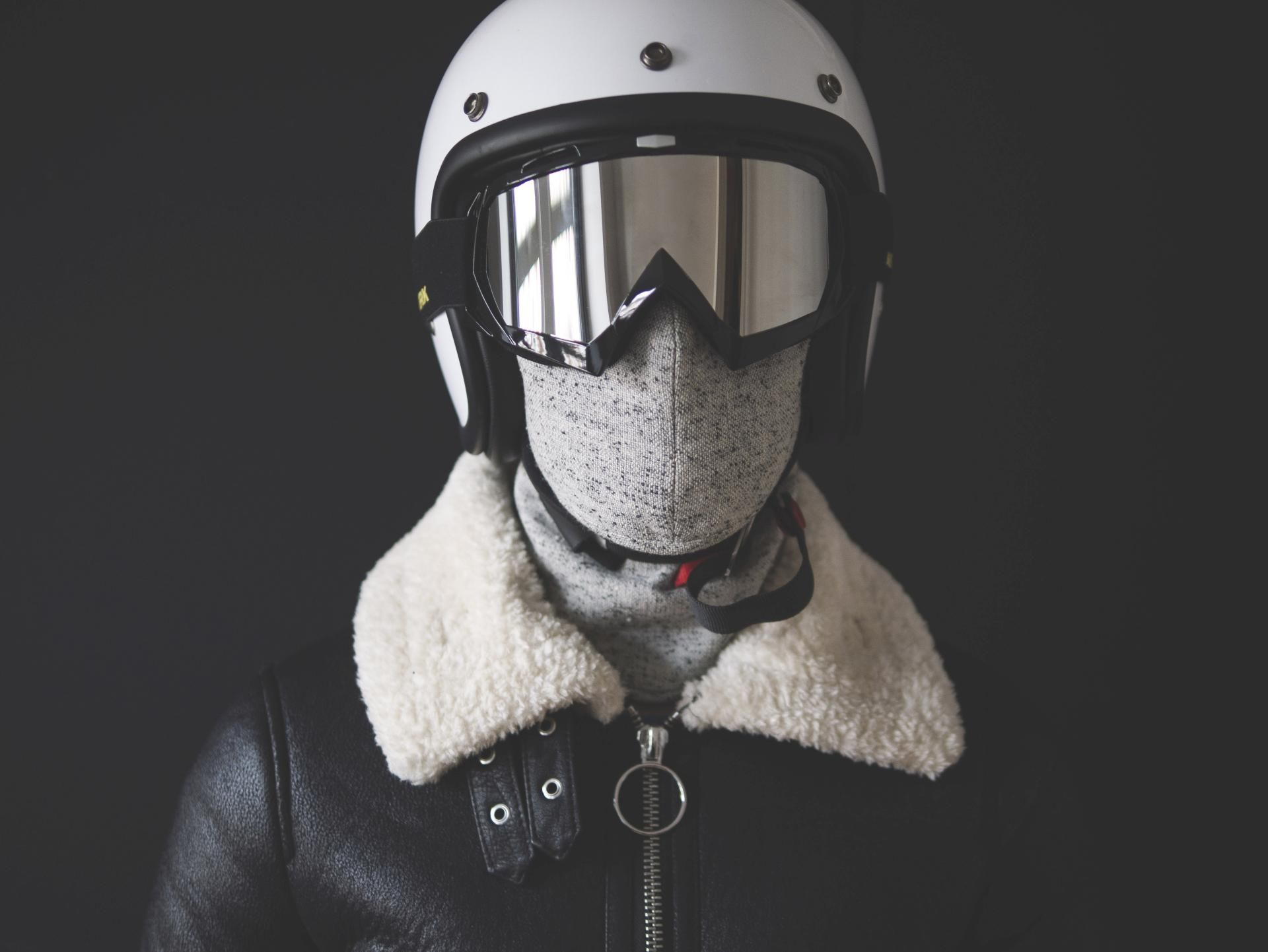 Stylish Motorcycle Anti Pollution Face Mask for Cold
