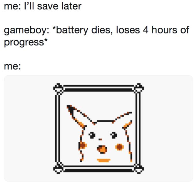 Surprised Pikachu Trending Images Gallery Pikachu Memes Memes Gameboy