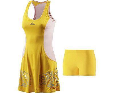 38, Yellow, Adidas Caroline Wozniacki By Stella McCartney Barricade Roland Garro
