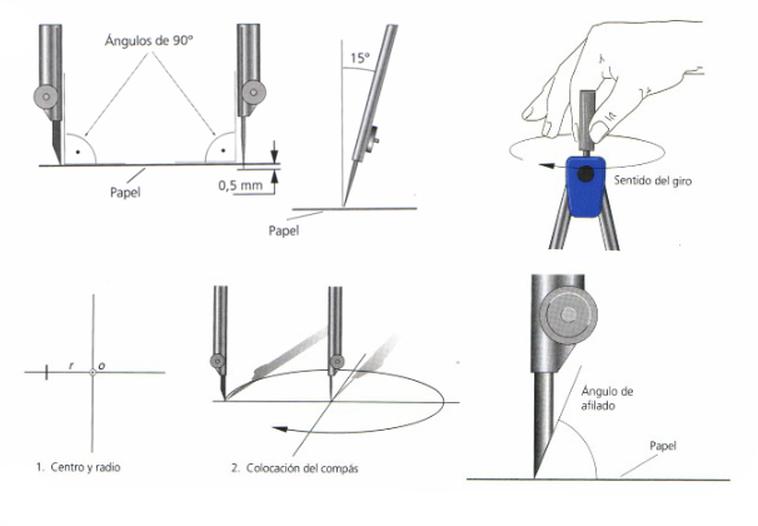Dibujo Tecnico Uso Del Compas Tecnicas De Dibujo Busqueda De Google Google