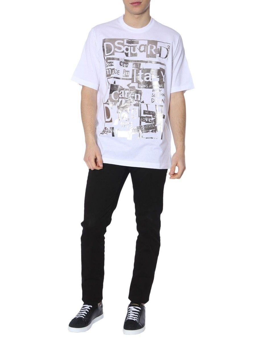 82333caff DSQUARED2 SLOUCH FIT T-SHIRT. #dsquared2 #cloth | Dsquared2 in 2019 ...