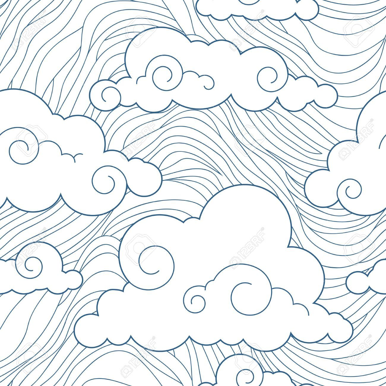 japanese clouds print google search this would be such