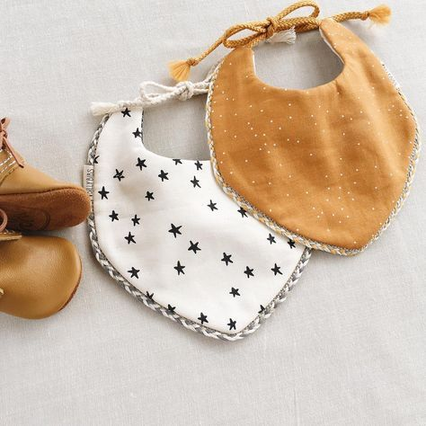Cute, stylish bibs! #bibsforbaby