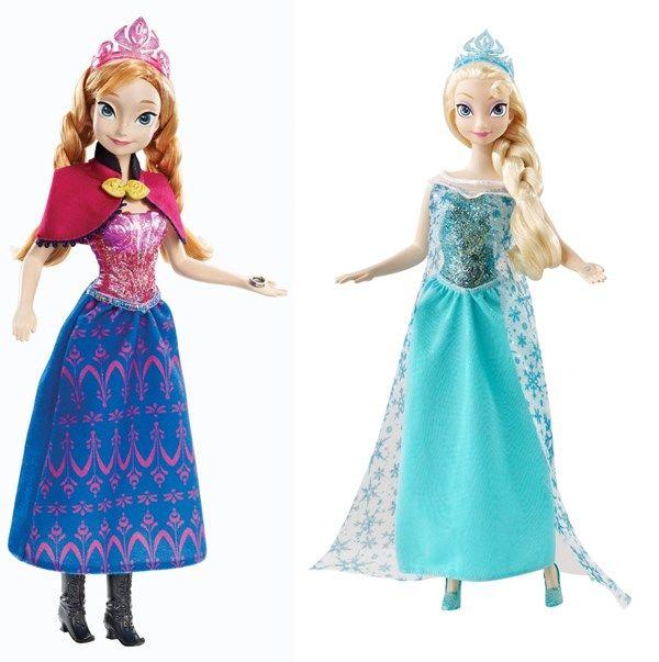 66e73c0938be2 Bonecas do Frozen  os modelos mais bacanas de Anna e Elsa!  http   www.mildicasdemae.com.br 2014 03 bonecas-frozen-os-modelos-mais- bacanas.html