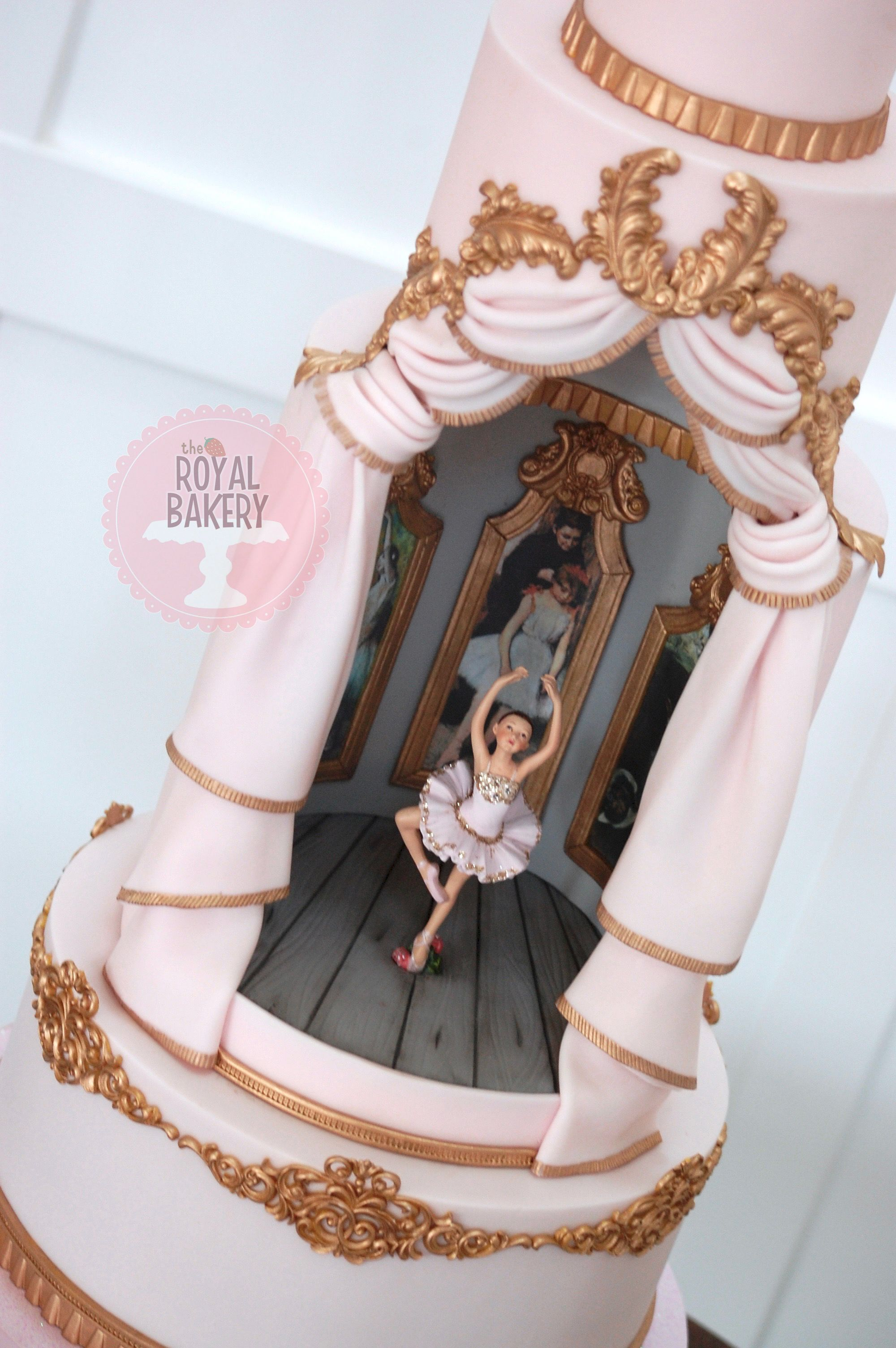 Based On The Designs By Cake Opera Co The Royal Bakery Ballet