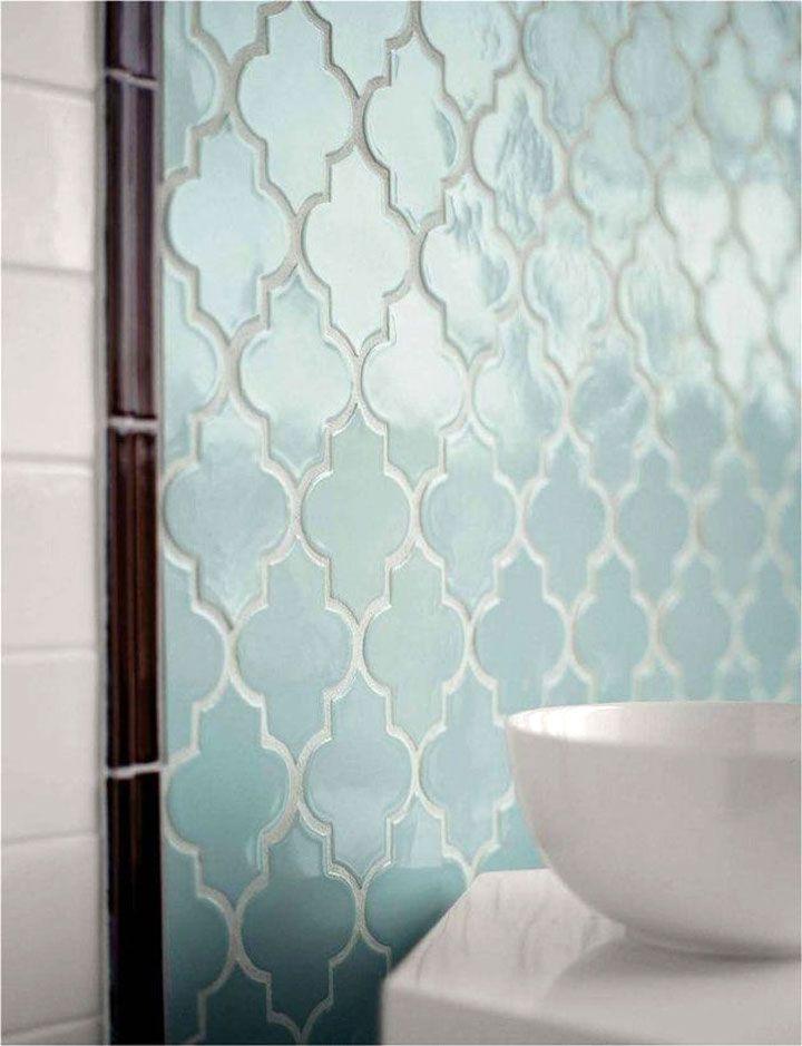 lichte blauwe Marokkaanse tegels   Keukens   Pinterest - Marokkaanse ...