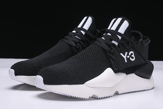 5bdeb15ec790 Adidas Y-3 Black White Sneaker 2018 For Men and Women in 2019 ...