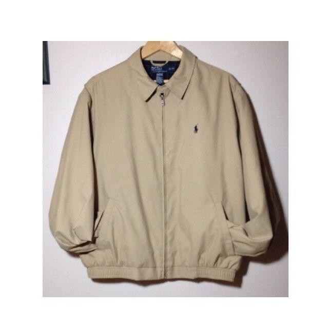 8c932bcea Polo Ralph Lauren Men's Jacket, Core Classic Khaki Windbreaker Size ...