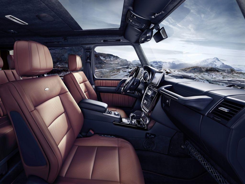 mercedes benz g class br 463 2015 g 500 interieur - G Wagon Interior