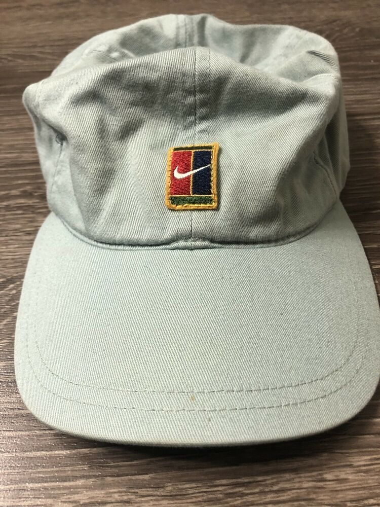 e196ff93f81 VTG NIKE SUPREME COURT PETE SAMPRAS TENNIS HAT OG CAP CHALLENGE AGASSI   fashion  clothing  shoes  accessories  mensaccessories  hats (ebay link)