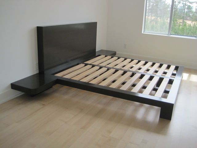 Custom King Size Platform Bed All Eco Friendly And Non Toxic