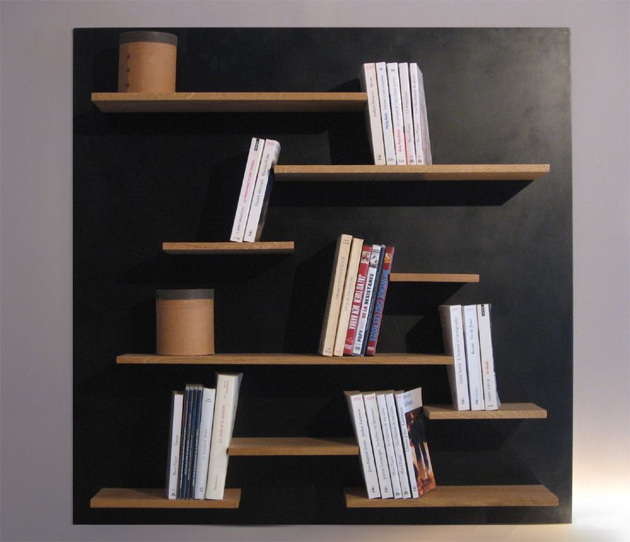 biblioth que murale la manufacture nouvelle design. Black Bedroom Furniture Sets. Home Design Ideas