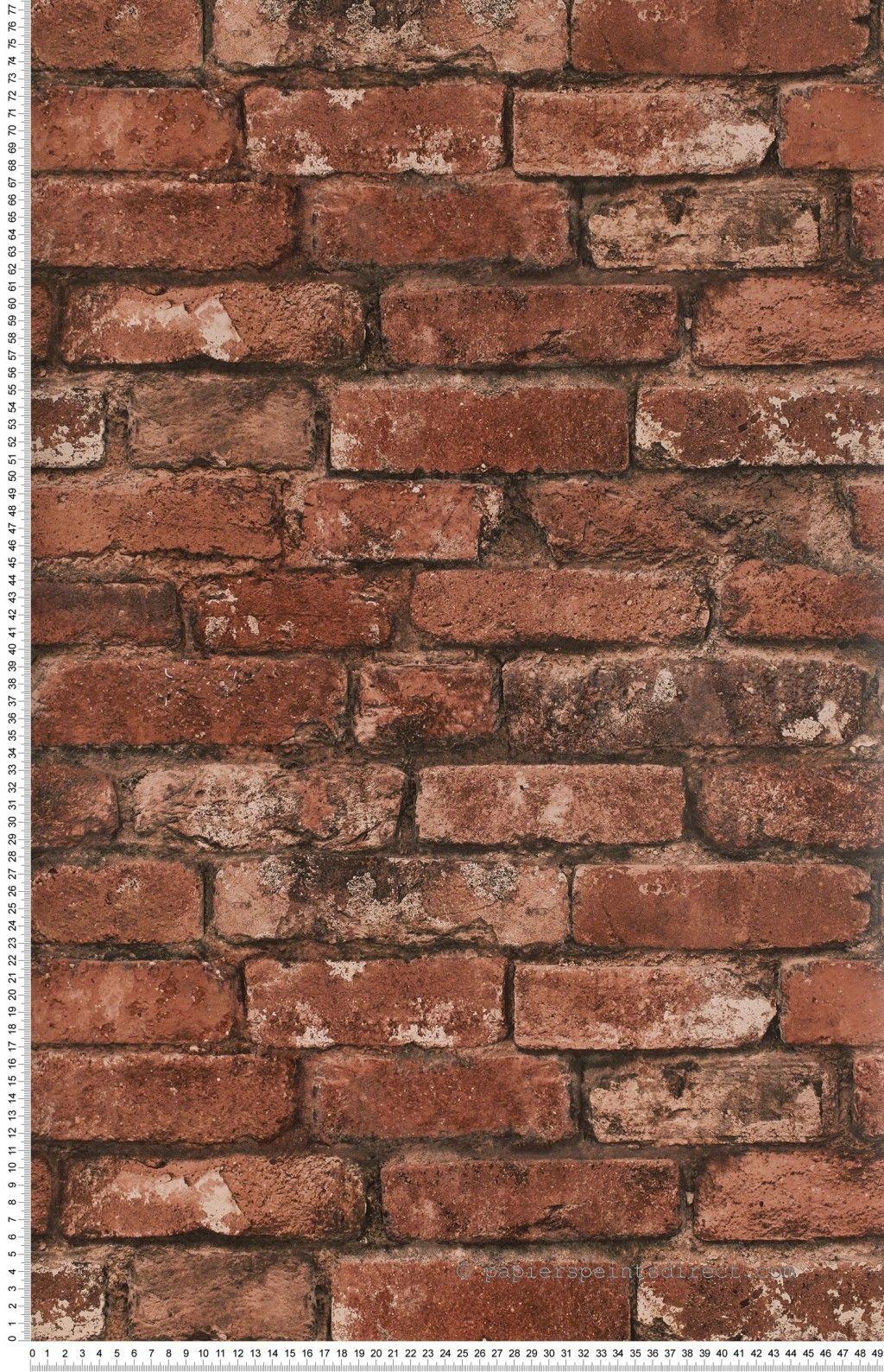 loft brickwork rouge papier peint oxford de lut ce. Black Bedroom Furniture Sets. Home Design Ideas