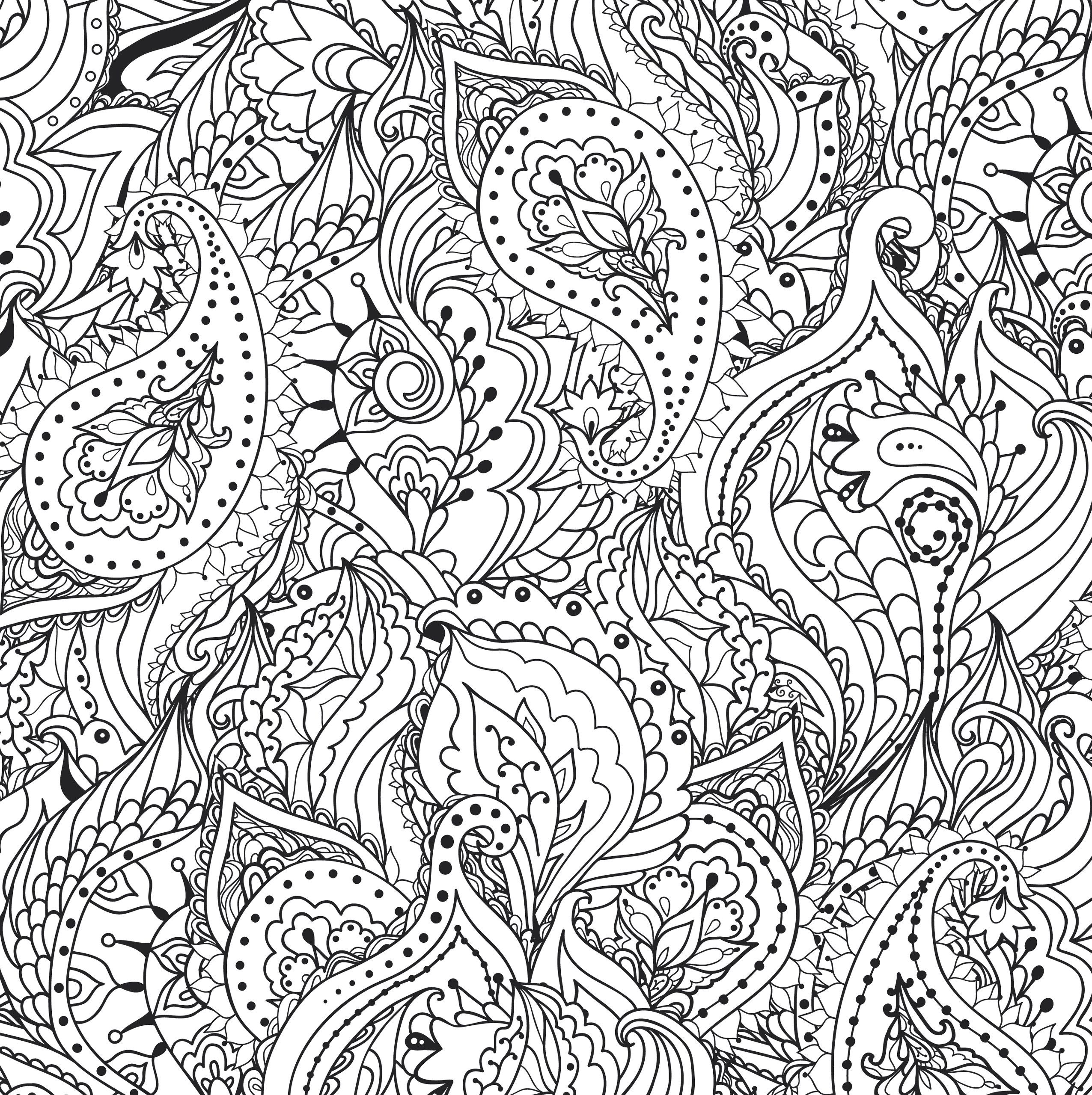 Buy Peaceful Paisleys Artists Coloring Book Online At Low