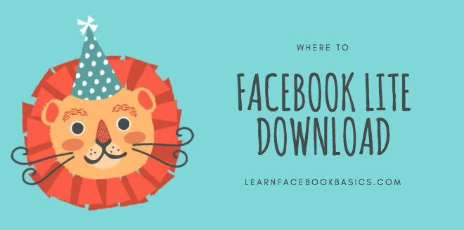 Facebook Lite Download App, Install facebook, Facebook app