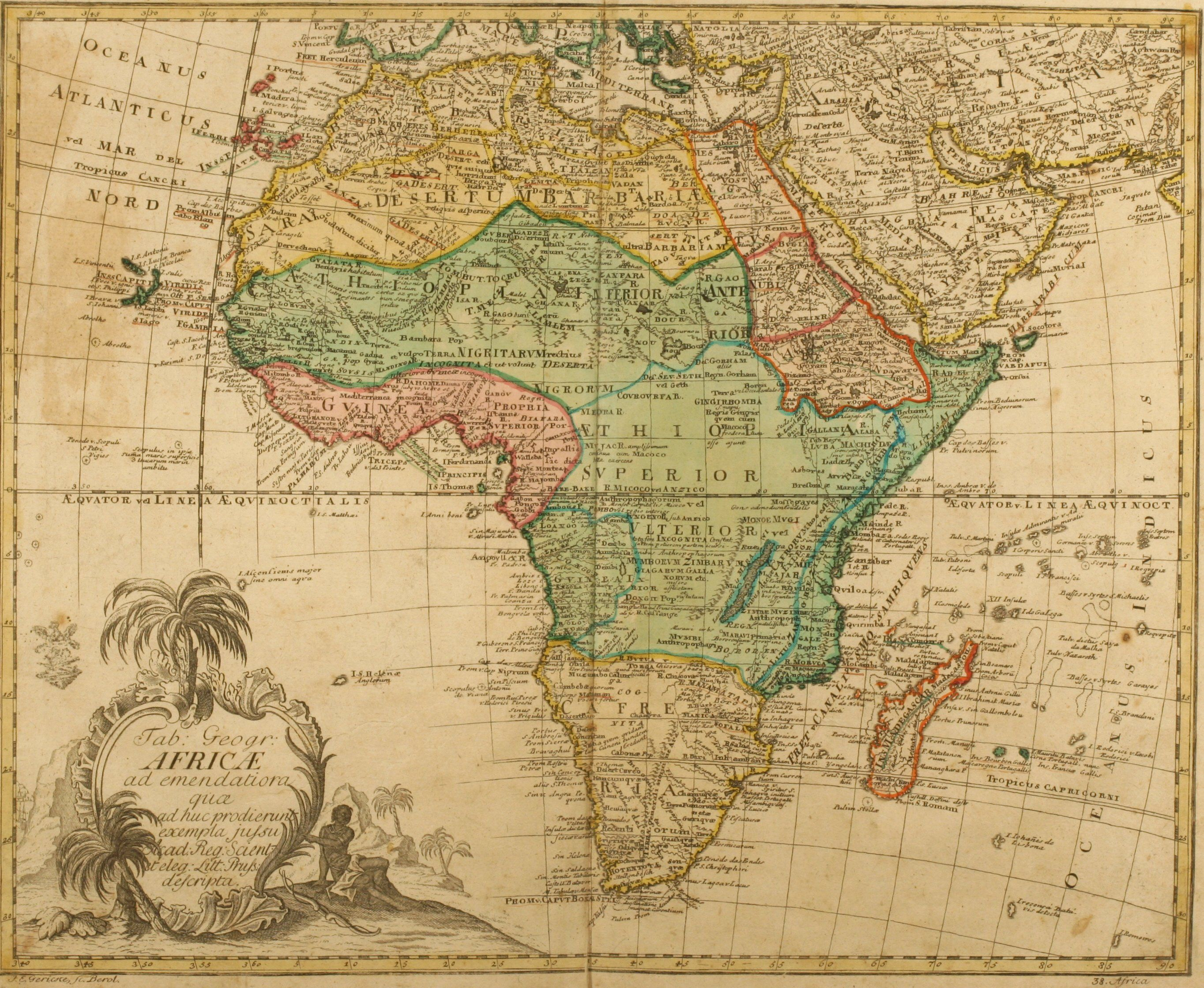 Africa, 1760  - link isn't directly to this map (you have to
