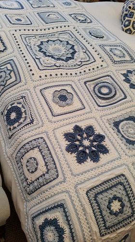 Ravelry Sharonblignauts Block A Week Cal 2014 Crochet Afghans