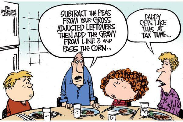 Cartoons Of The Week April 14 20 Accounting Humor Accounting Jokes Tax Season Humor