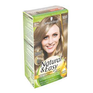 Schwarzkopf Natural   Easy 533 Intense Ash Blonde Hair Color ... c85b630376