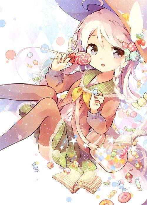 anime, cute, and girl Bild