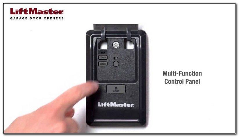 Liftmaster Myq Garage Door Opener Setup With Images Liftmaster Garage Door Garage Doors Garage Door Opener