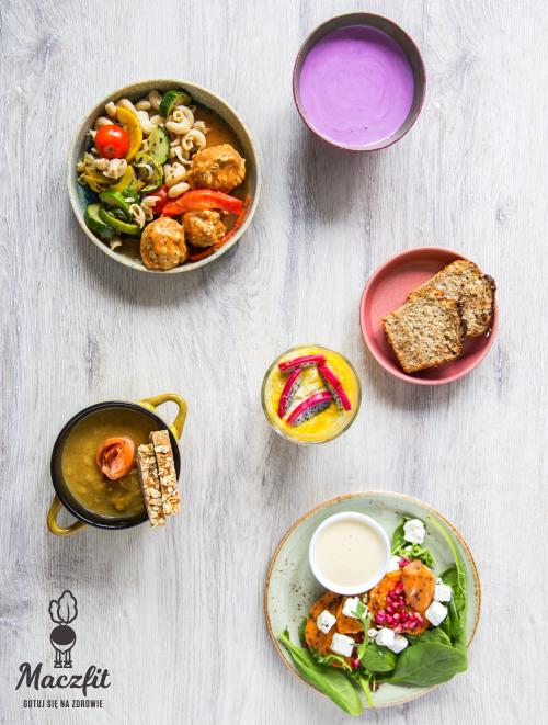 Kolorowo I Smacznie Z Maczfit Zestaw Dnia Lunchbox Zdrowe