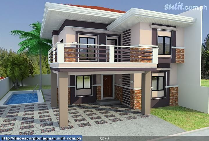 Pin By Meghan Sawant On House Ideas Simple House Design 2 Storey House Design Philippines House Design