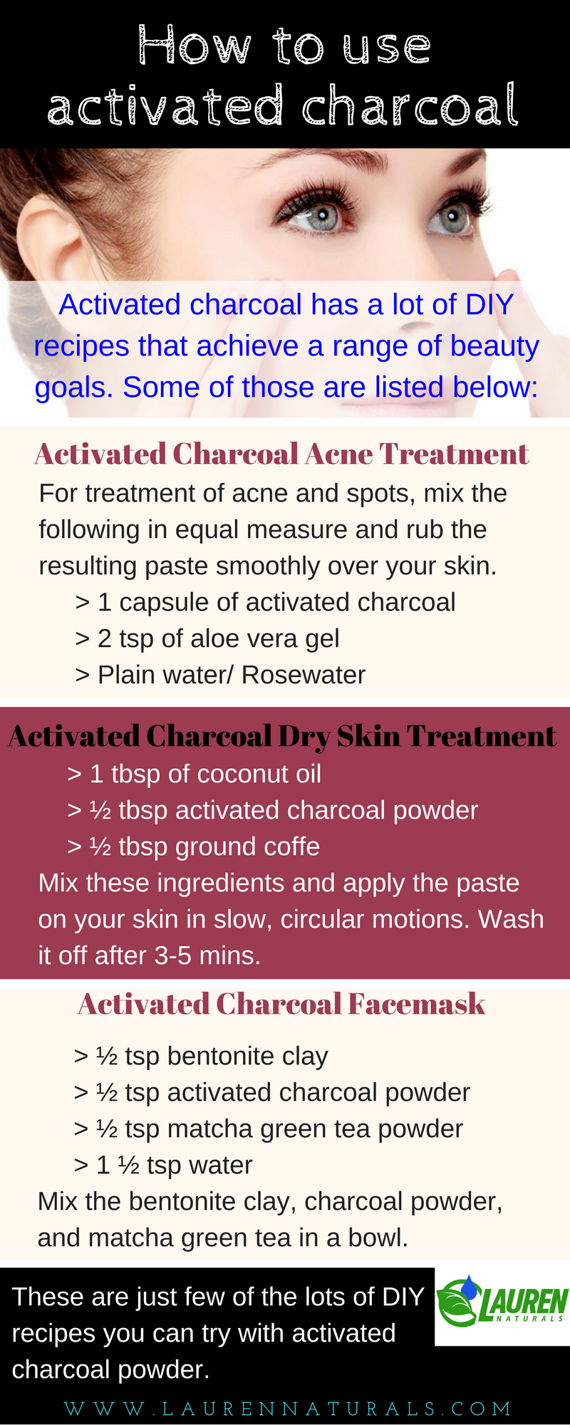 activated charcoal uses for acne