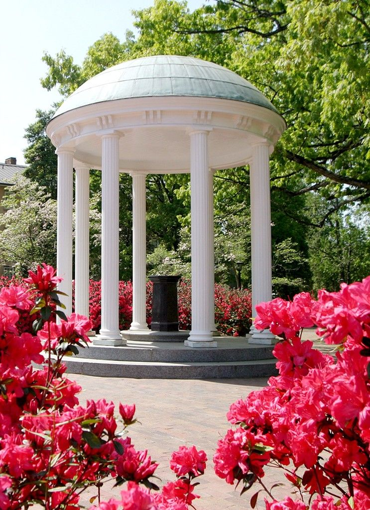 Some Of The Most Famous Spots On The University Of North Carolina