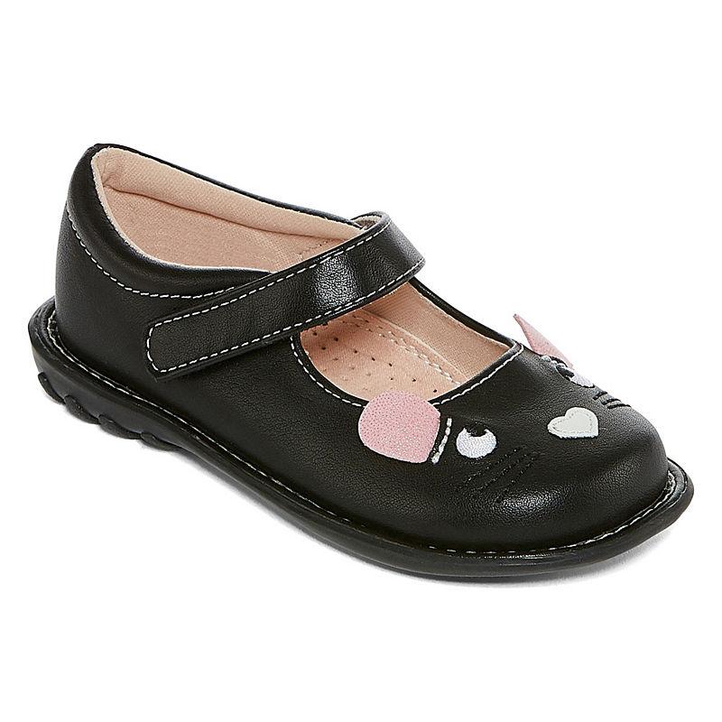8160c4d02ec5 Okie Dokie Toddler Girls Rosalind Slip-On Shoe Closed Toe