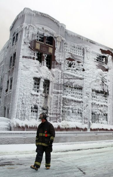 Chicago Building Fire Editorial world architecture news