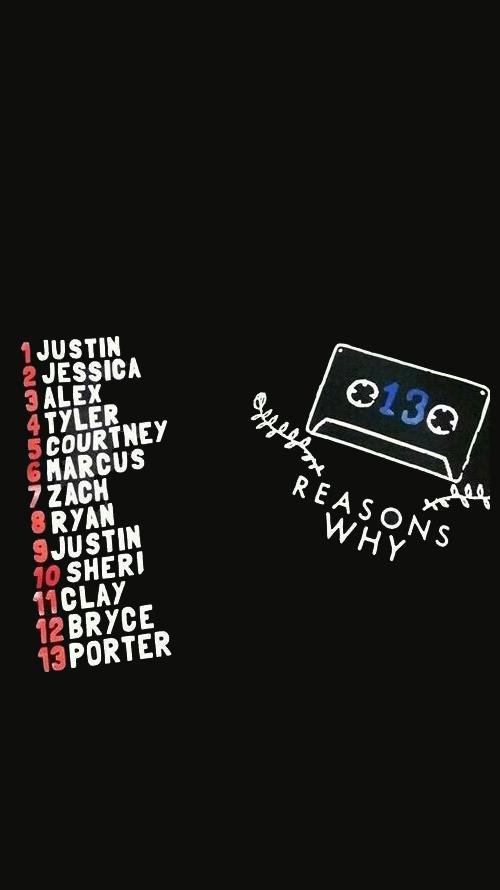 Resultado De Imagen Para 13 Reasons Why Wallpaper Por 13