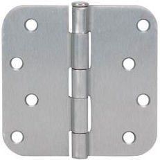 Cosmas Satin Nickel Door Hinge 4 Inch X 4 Inch With 5 8 Inch Radius Corners By Cosmas 1 89 Door Hinges Satin Nickel Hinges