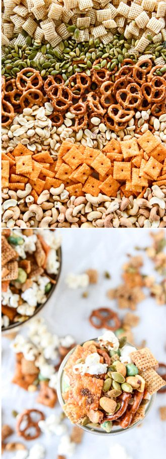 The Most Addicting Homemade Snack Mix #homemadesweets