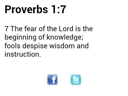 Daily verse, 5-11-13