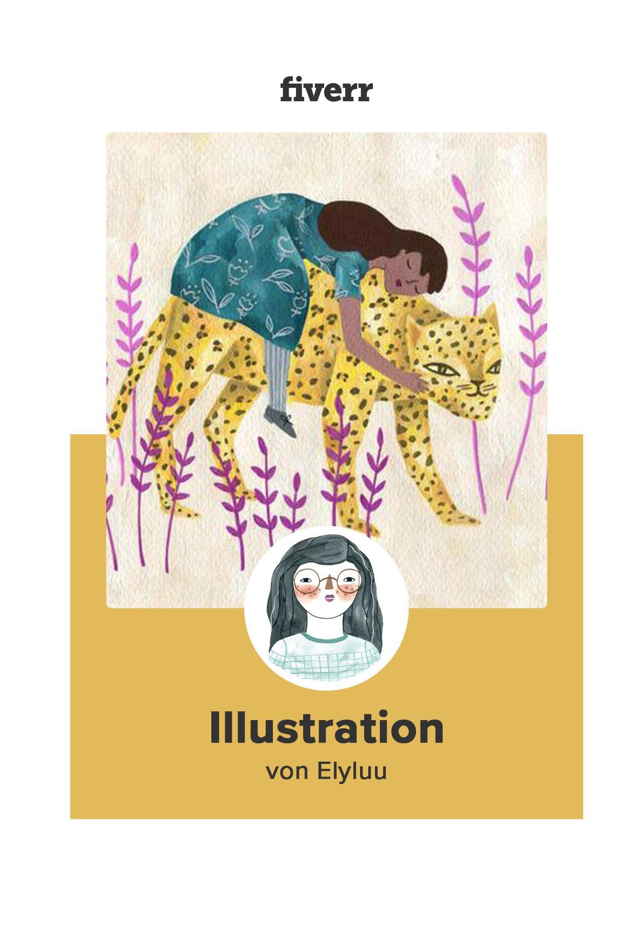Illustration von Elyluu auf fiverr #interessen