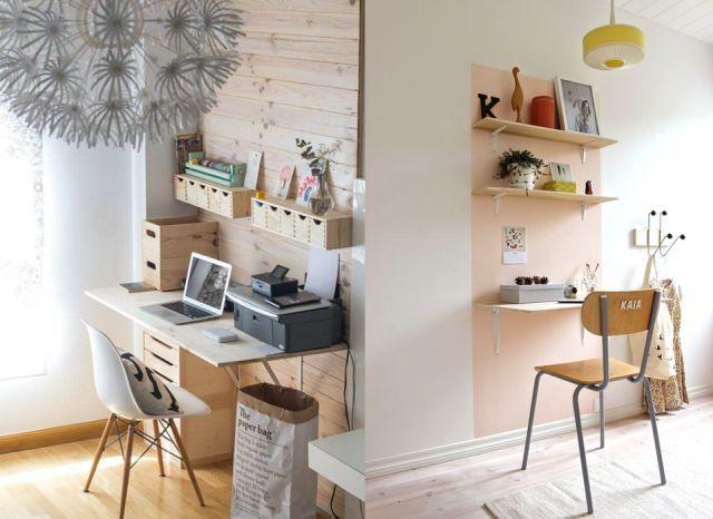 20 inspirations pour un petit bureau pinterest spare room