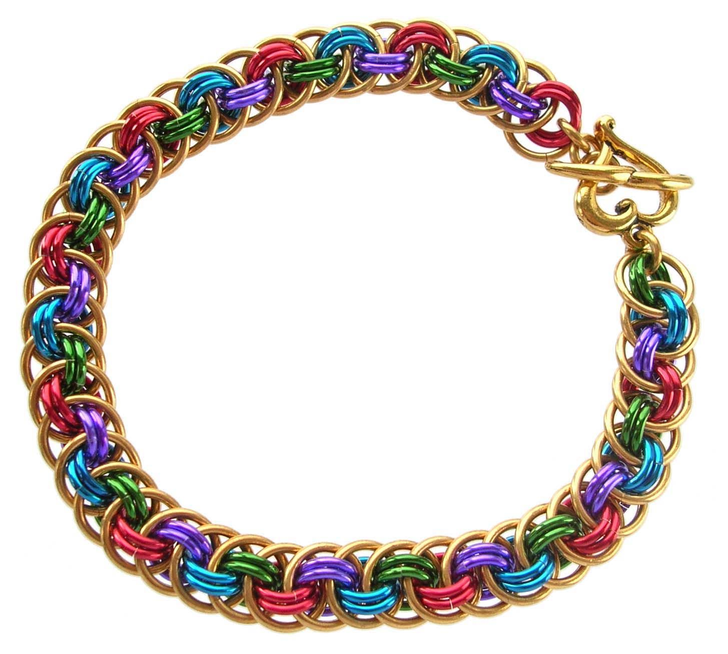 Learn a Weave - Orbital Viperus Berus - Beadsisters | Chain Maille ...