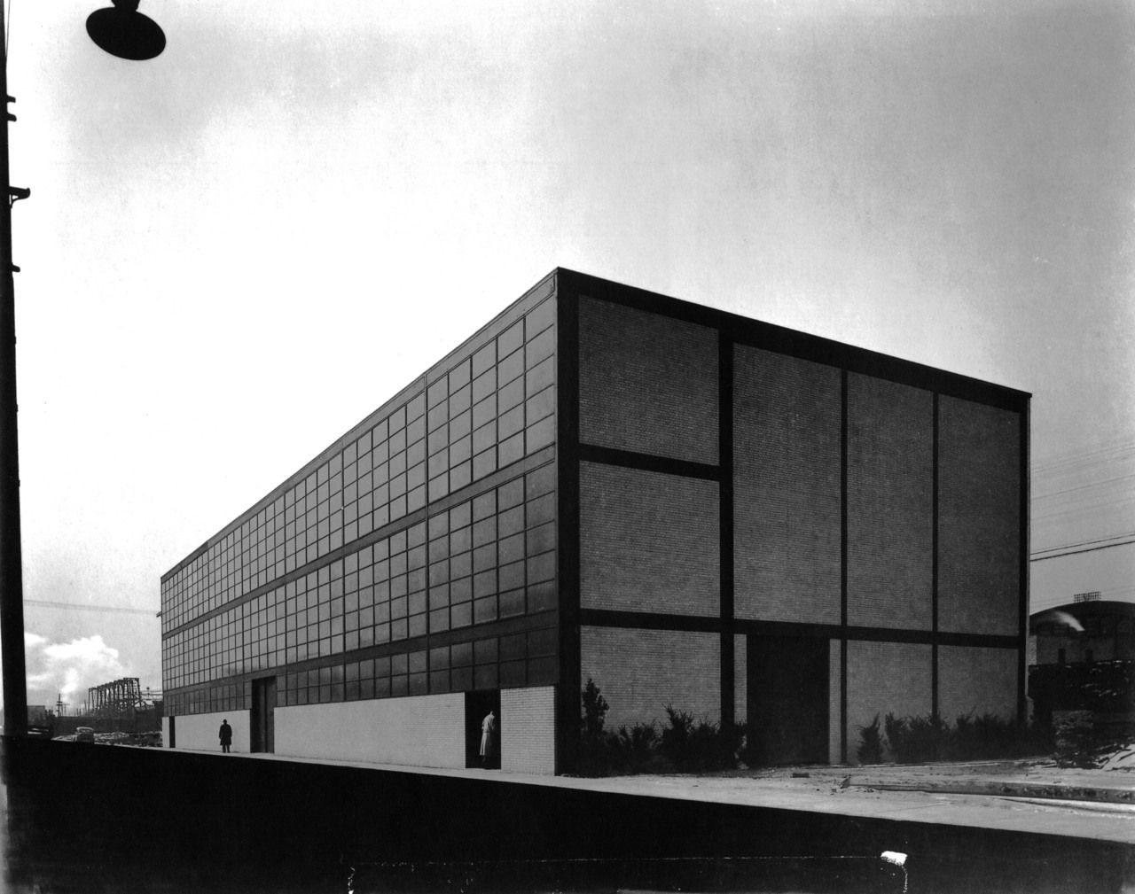 Ludwig Mies Van Der Rohe Bauwerke Minerals And Metals Research Building Illinois Institute