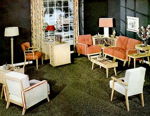 Living Room 1949 Interior Design Programs Interior Vintage