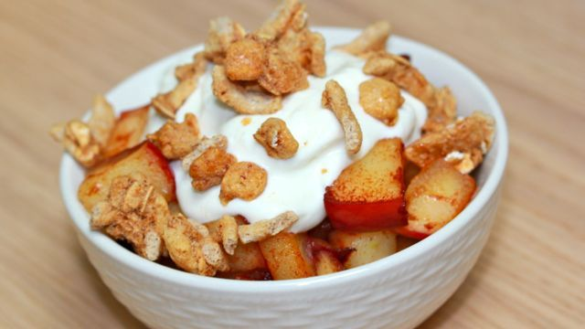 7Minute Stove Top Clean Eating Apple Crisp Recipe