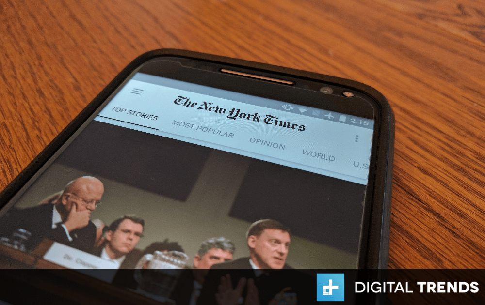 Alphabet is Helping The New York Times Improve its