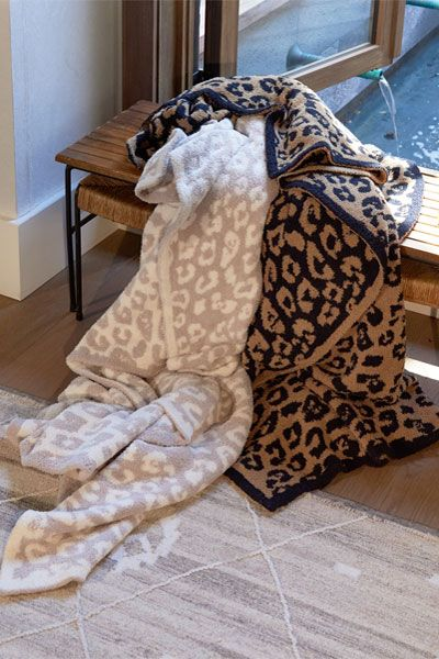 7d63e20c40 Barefoot Dreams In The Wild CozyChic Leopard Throw