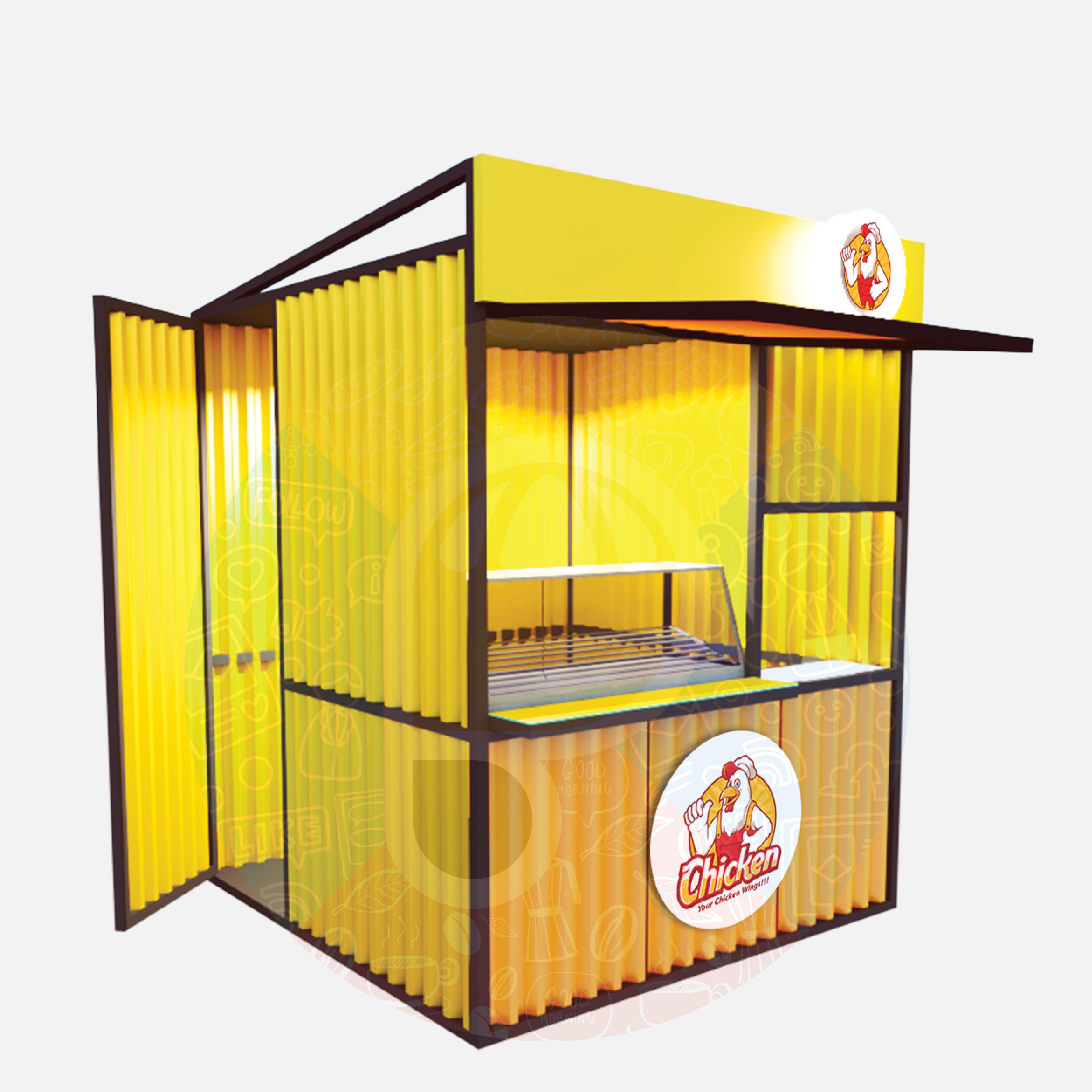 Mini Ruko Container - Panglima Gerobak di 2021   Rumah ...