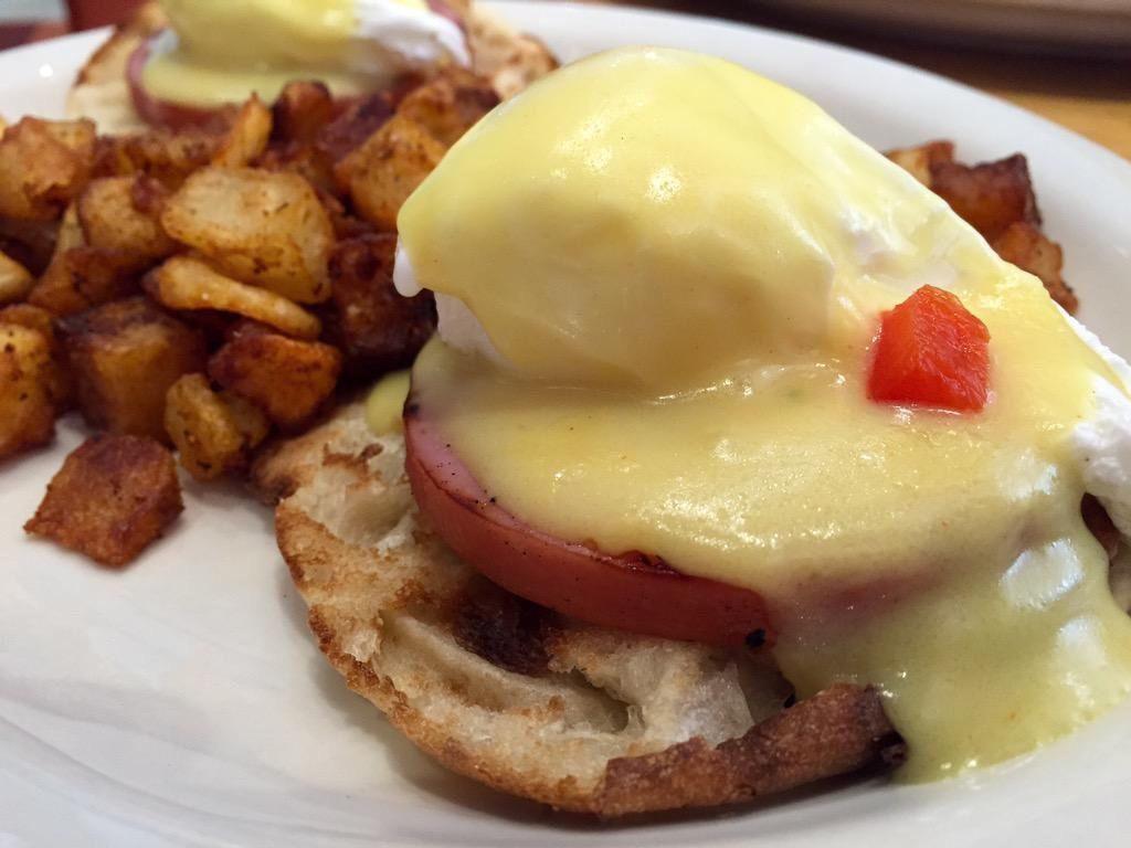[I Ate] Eggs Benedict