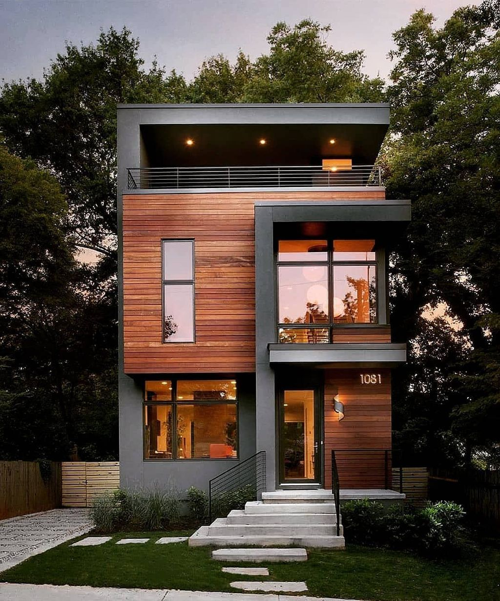 35 Awesome Small Contemporary House Designs Ideas To Try Small House Design Contemporary House Design Small House Exteriors